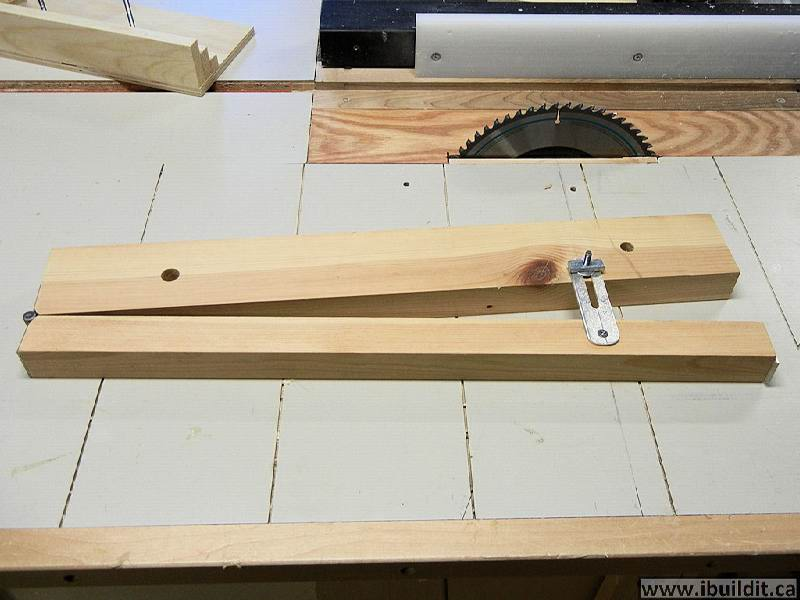 Making A Table Saw Tapering Jig