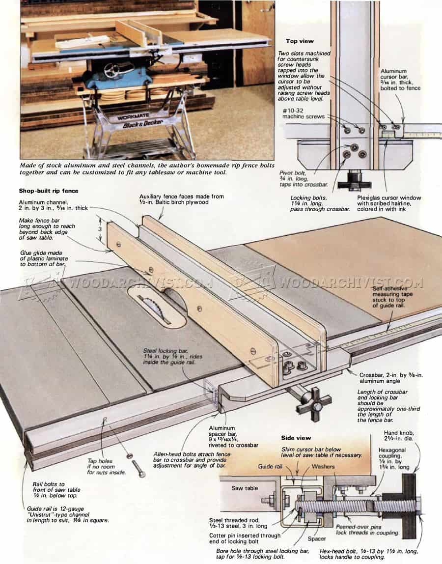 One More DIY Table Saw Fence