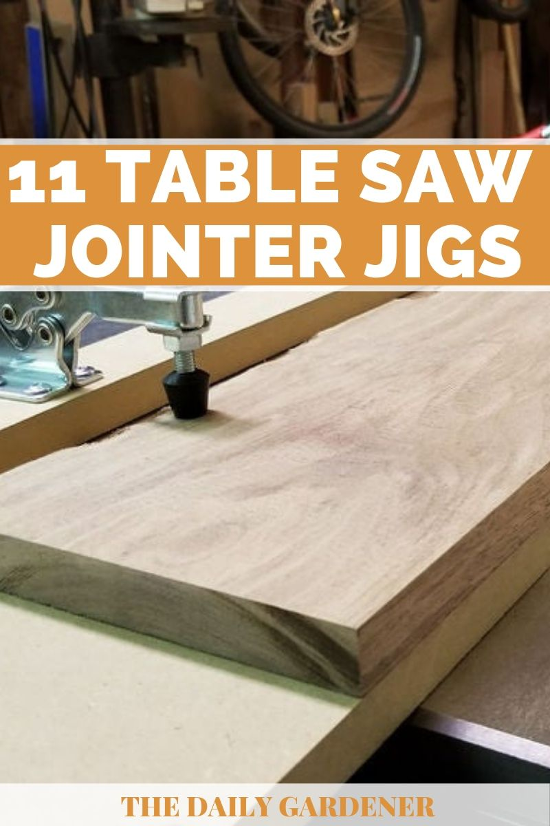 Table Saw Jointer Jigs Plans