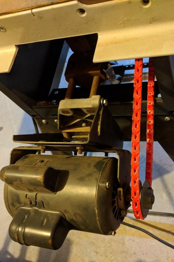 Table Saw Power twist link belt