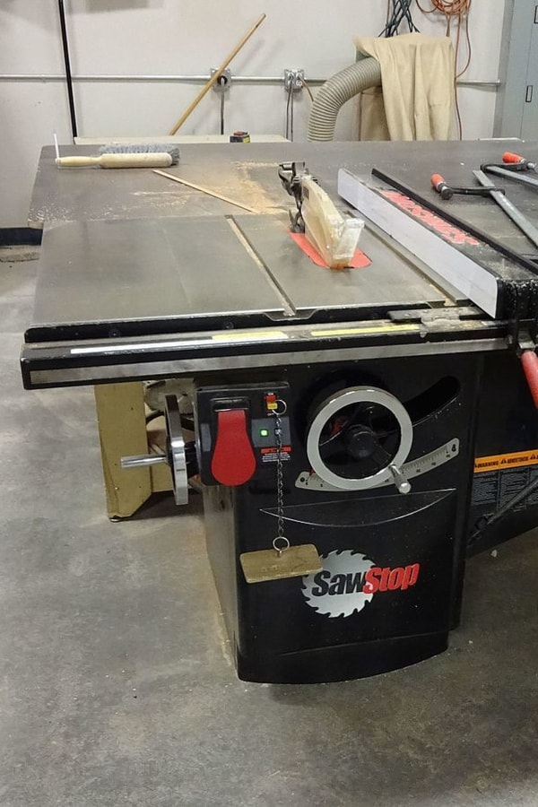 Table Saw Safety power switch