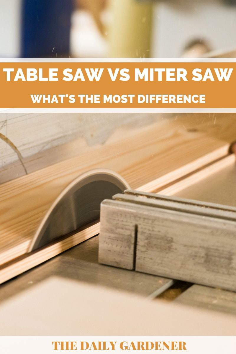 Table Saw vs Miter Saw 1