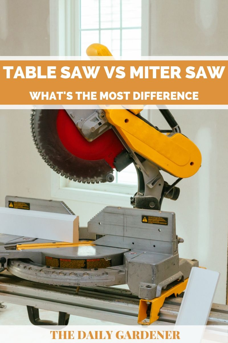 Table Saw vs Miter Saw 2