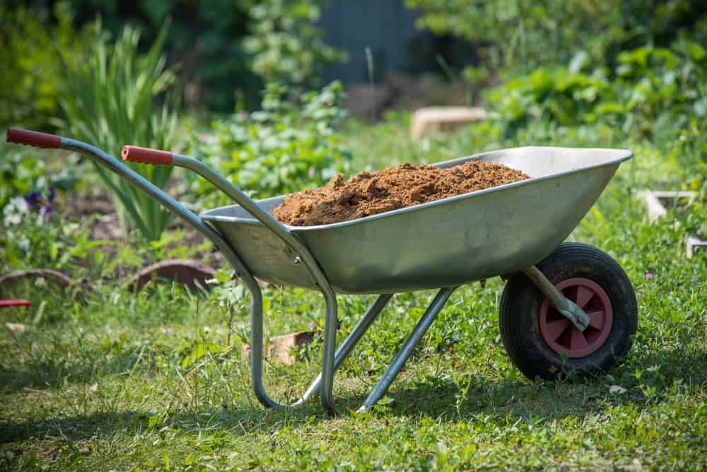 The many uses of the wheelbarrow