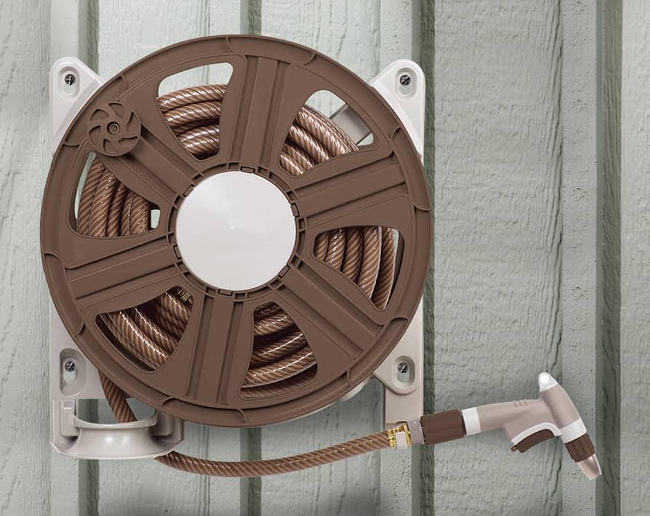 best wall mounted hose reel