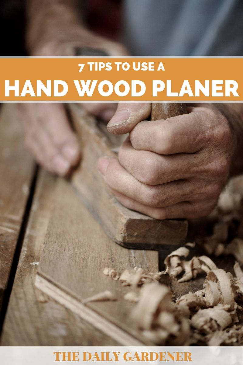 how to use hand wood planer 2