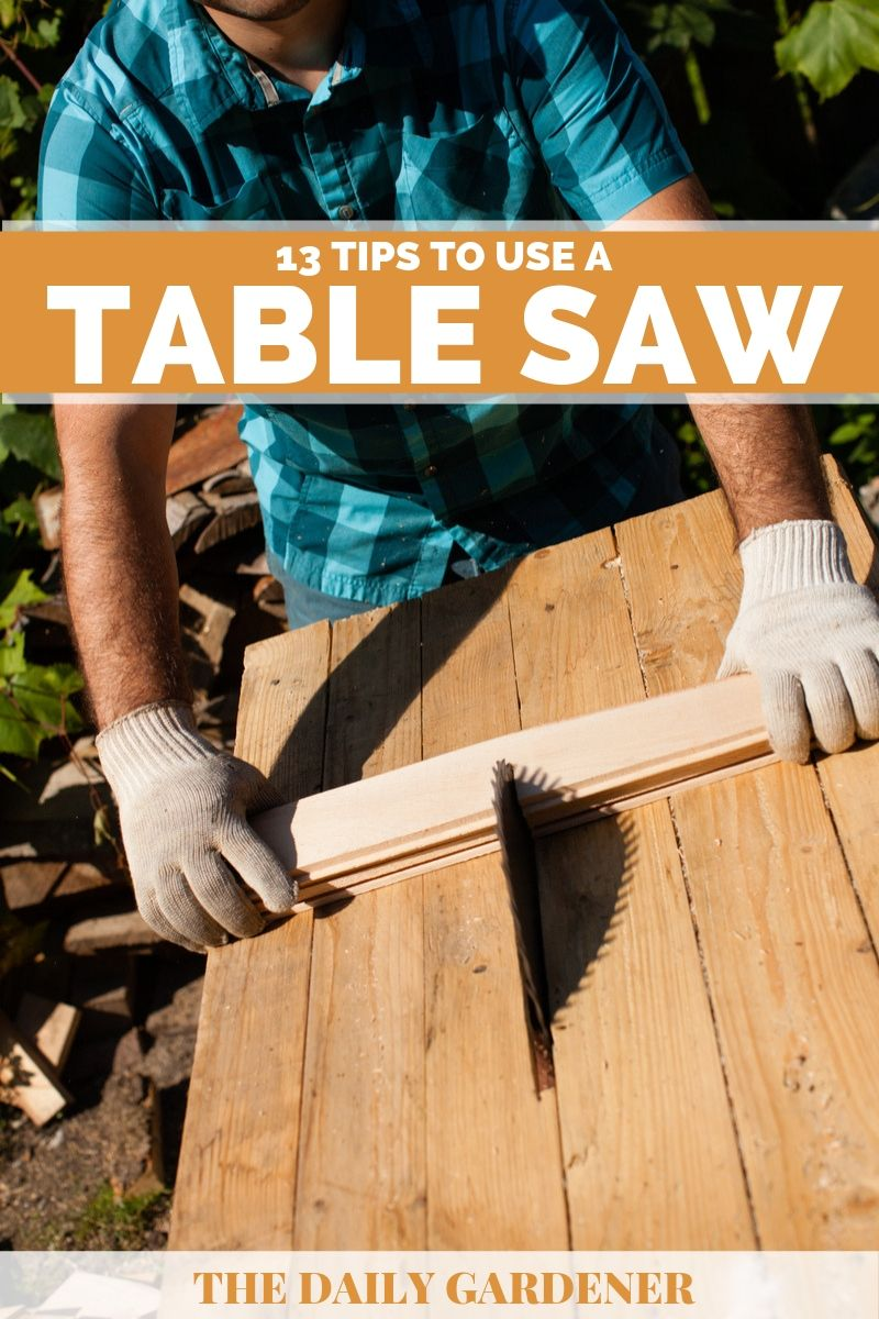 how to use table saw 2