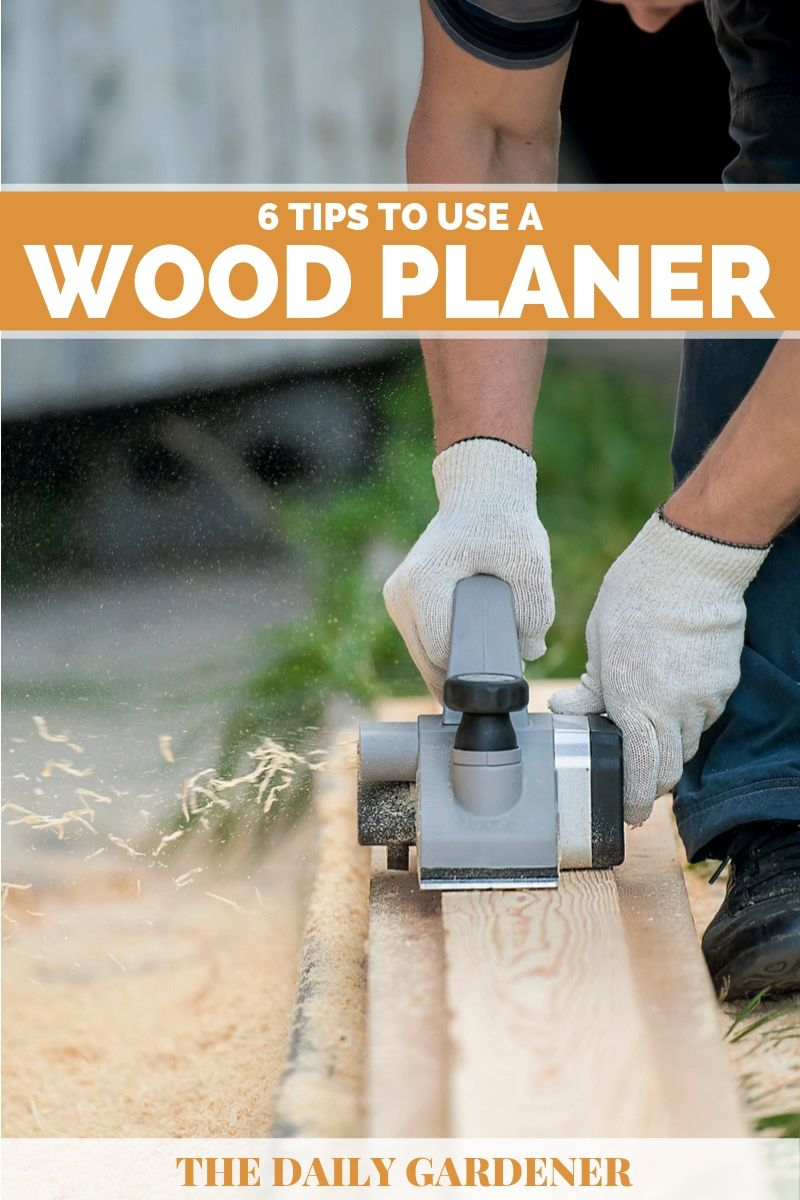 how to use wood planer 2
