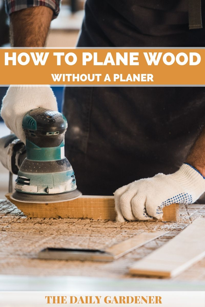 plane wood without planer 2