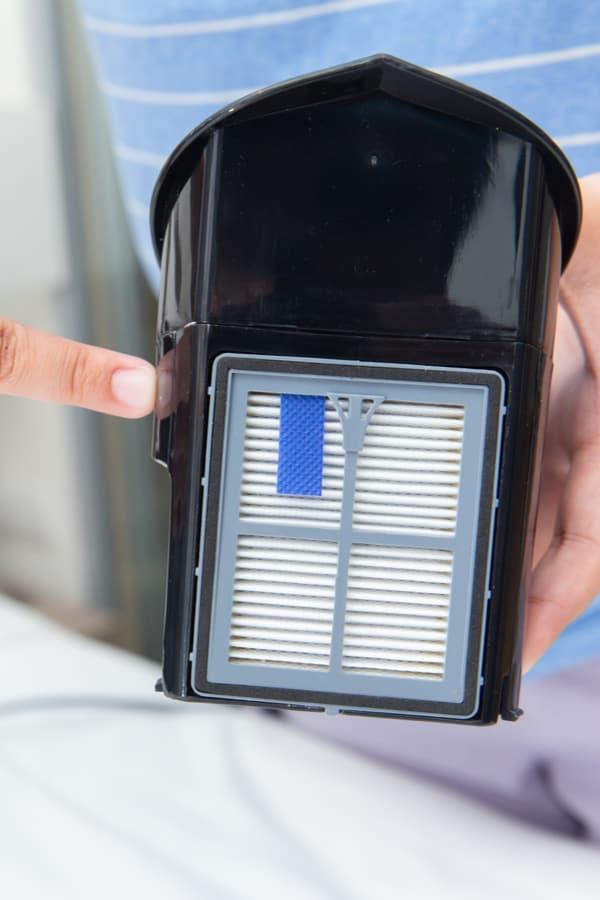 Install a HEPA filter