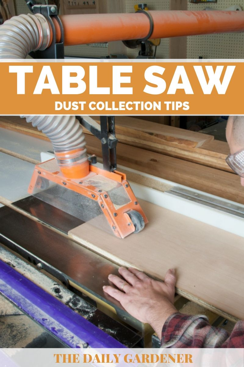 Table Saw Dust Collection 1