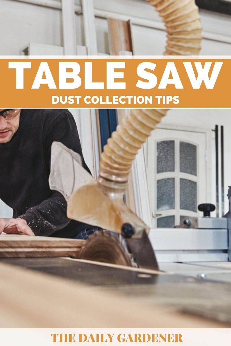 Table Saw Dust Collection 2