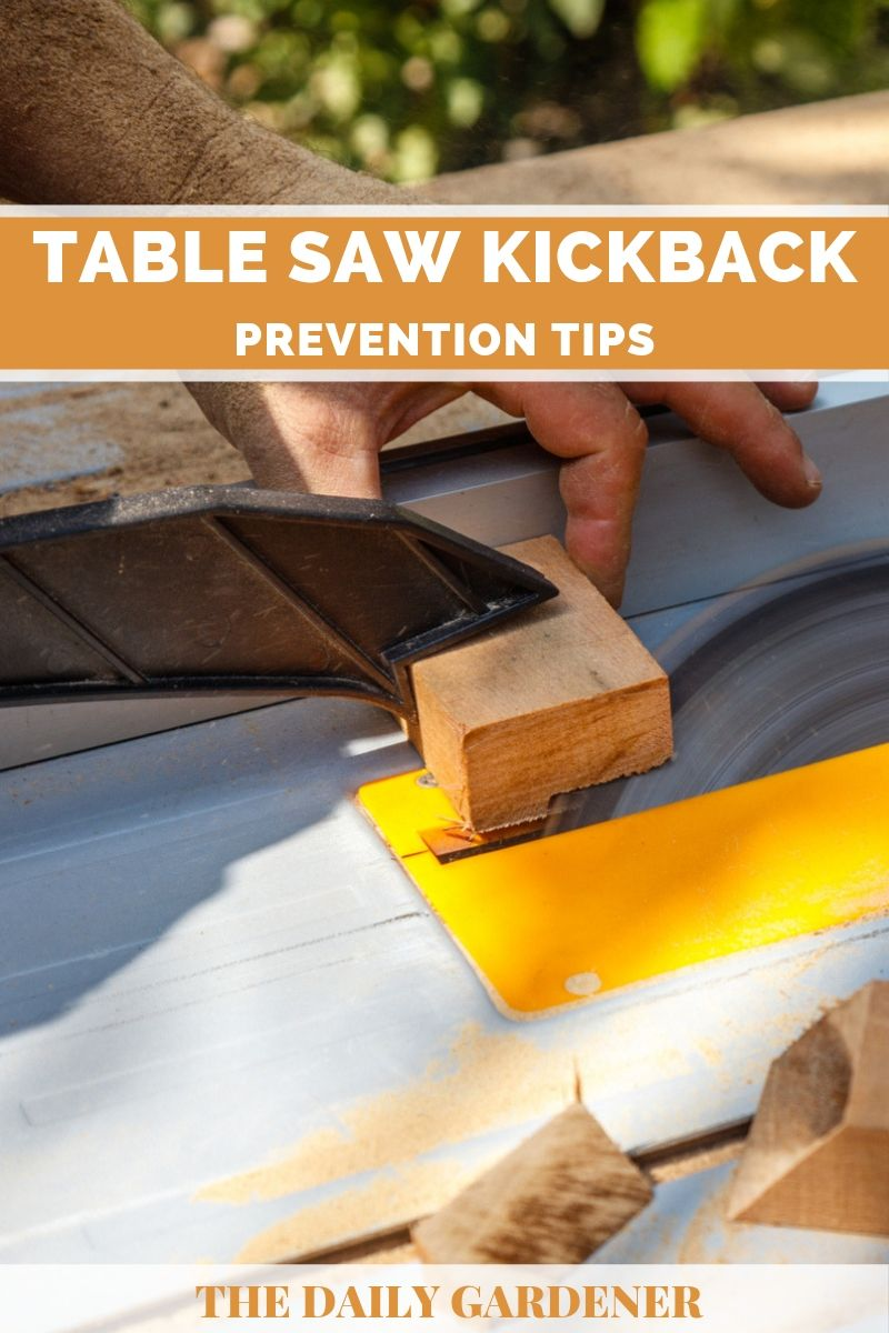 Table Saw Kickback 1