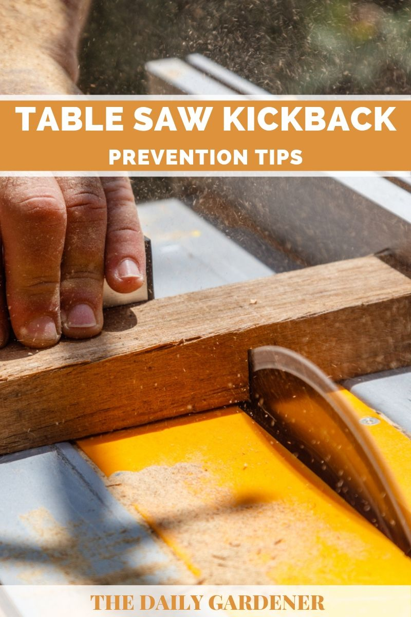 Table Saw Kickback 2