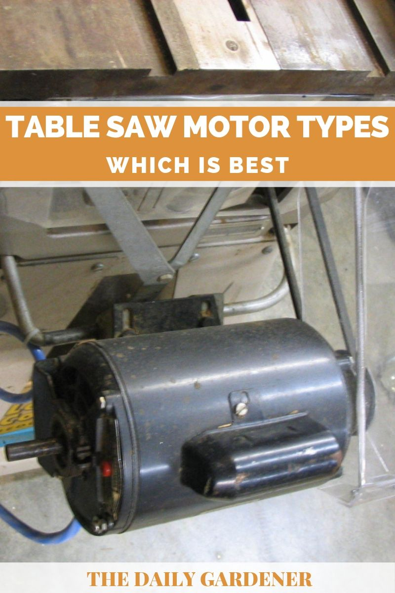 Table Saw Motor Types 3