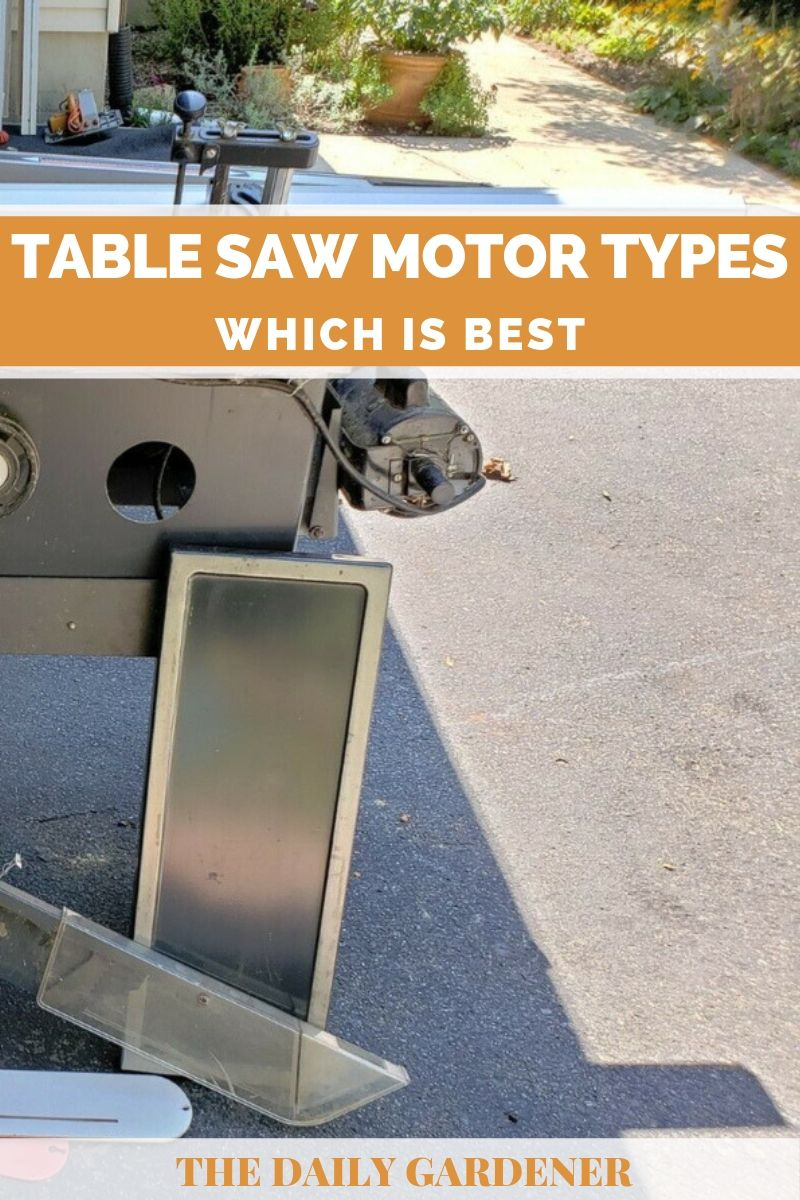 Table Saw Motor Types 4