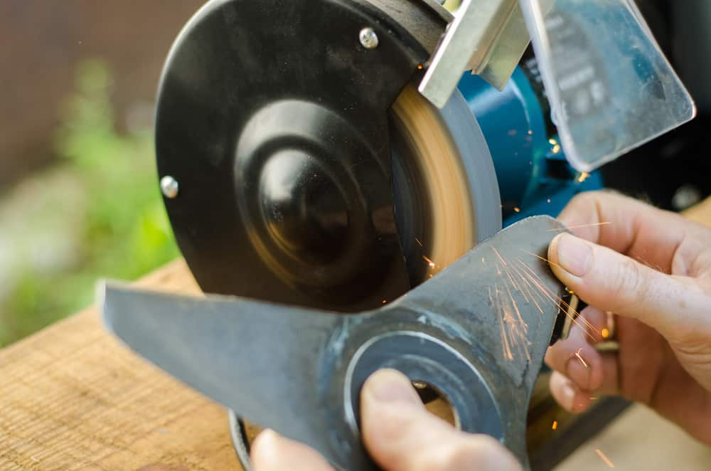 best lawn mower blade sharpener
