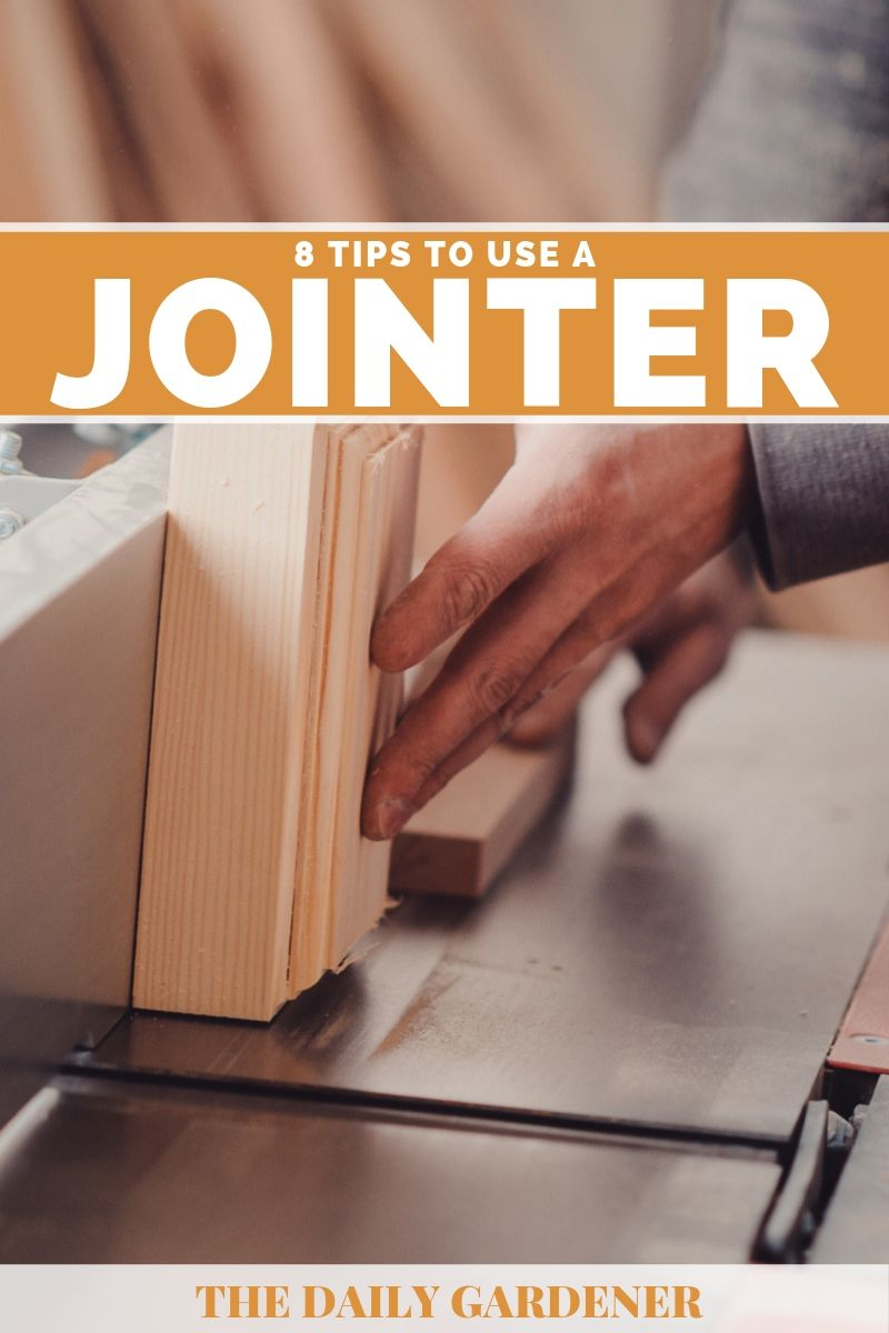 how to use jointer 4