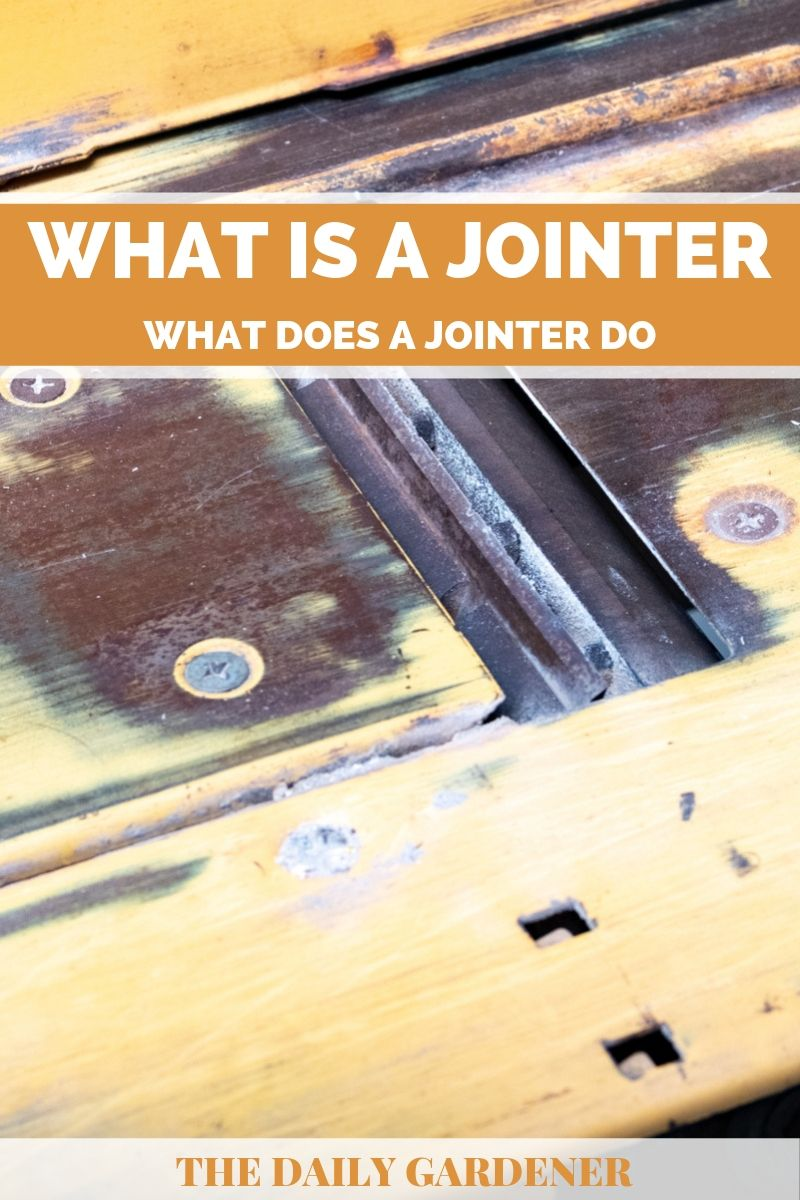 what does jointer do 1