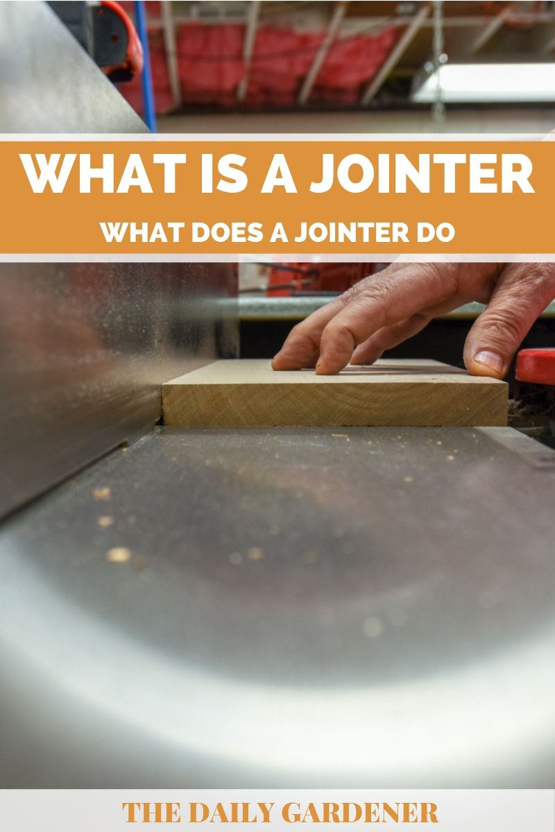 what does jointer do 2