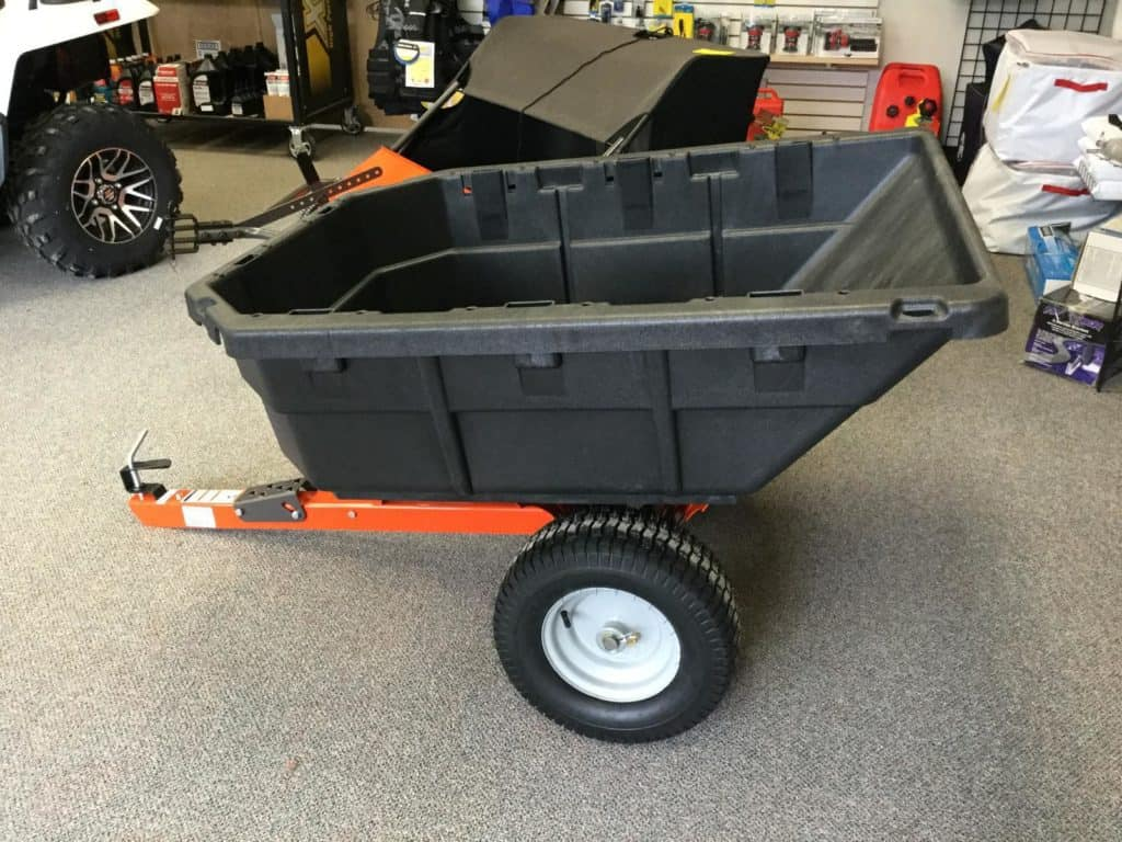 Husqvarna Swivel Dump Cart for Lawn Tractor