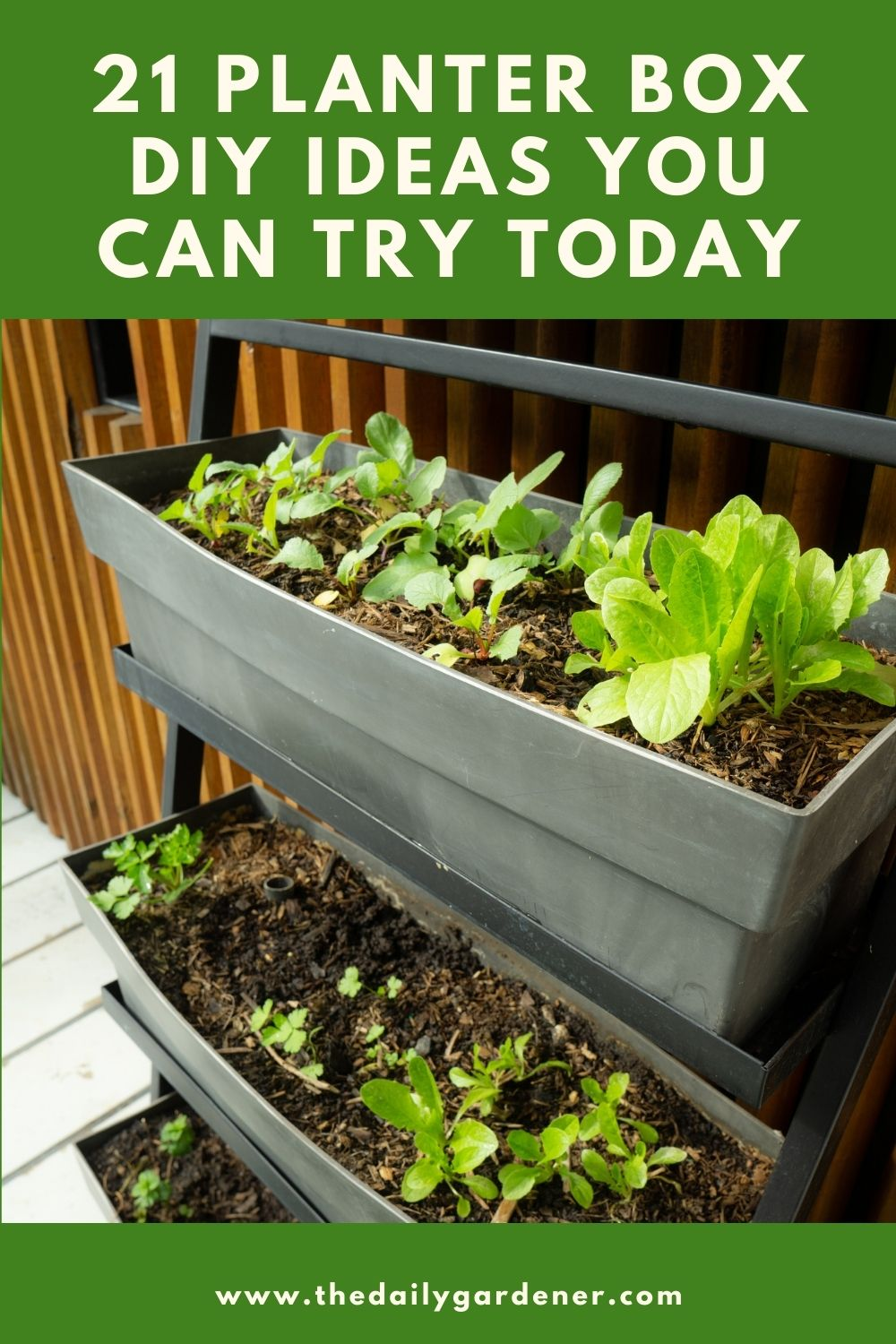 21 Planter Box DIY Ideas You Can Try Today 1