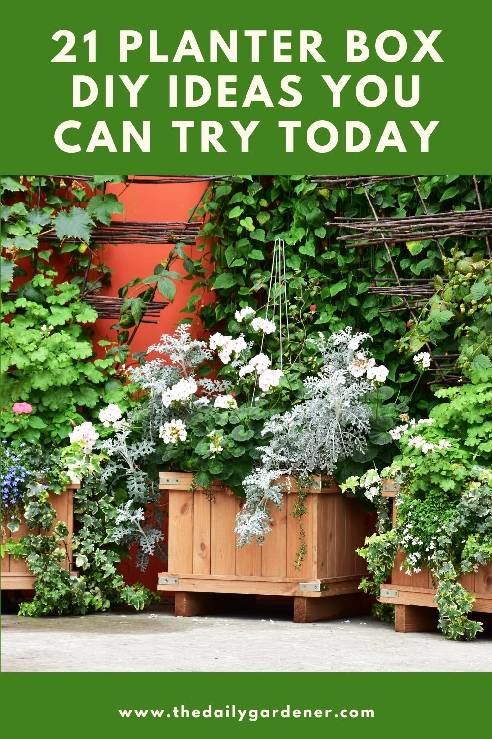 21 Planter Box DIY Ideas You Can Try Today 2