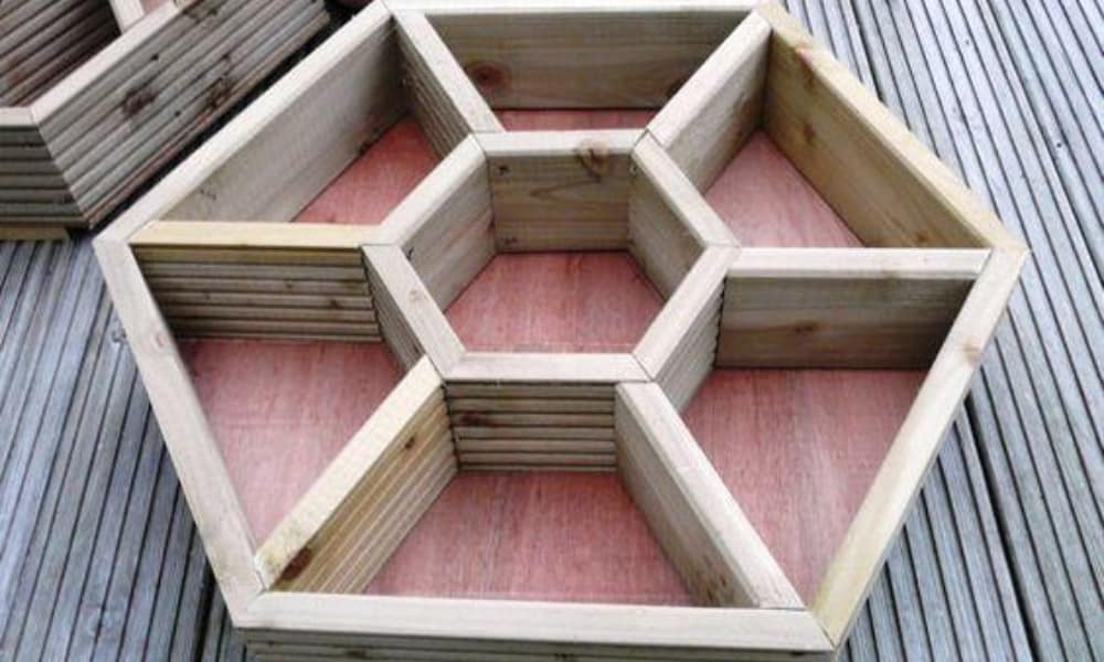 Honeycomb Planter Box