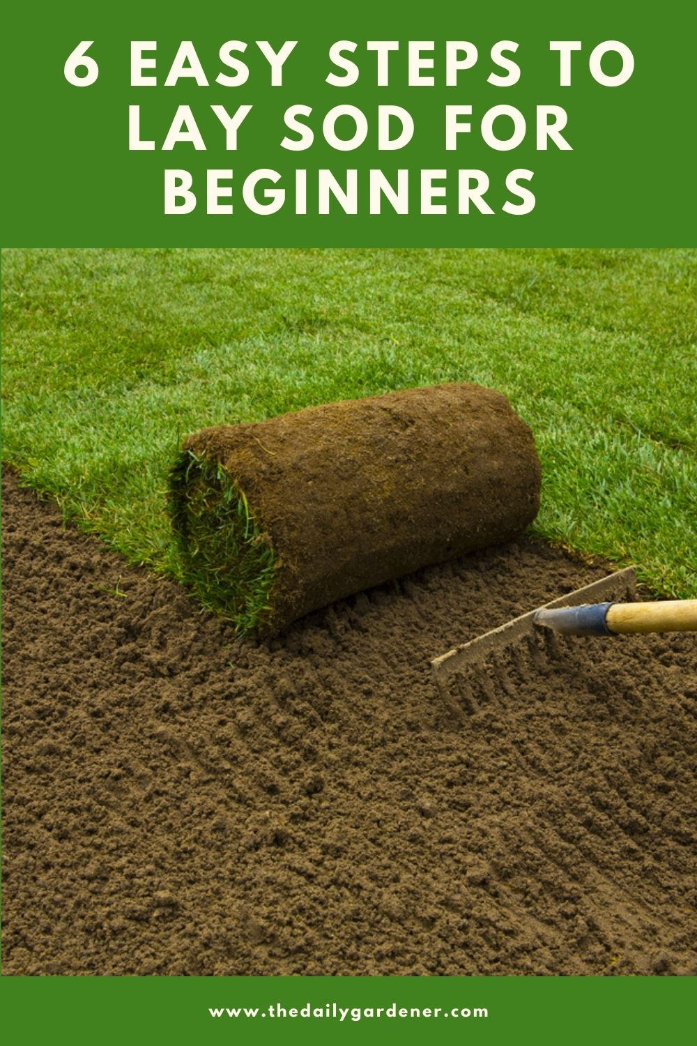 6 Easy Steps to Lay Sod for Beginners 2