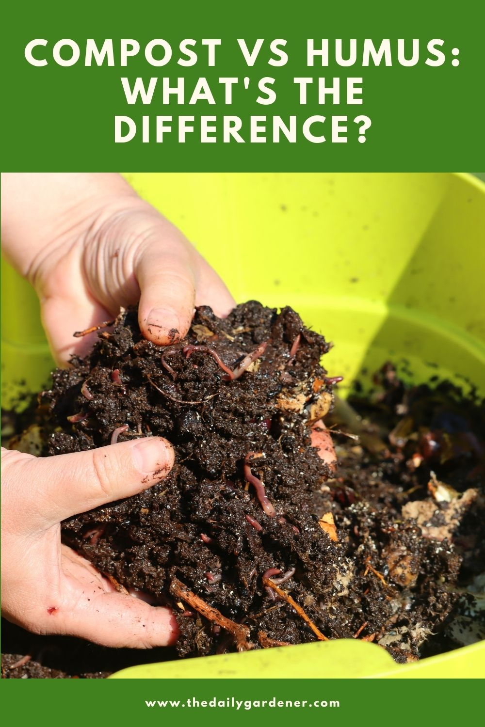 Compost VS Humus What's the Difference 2