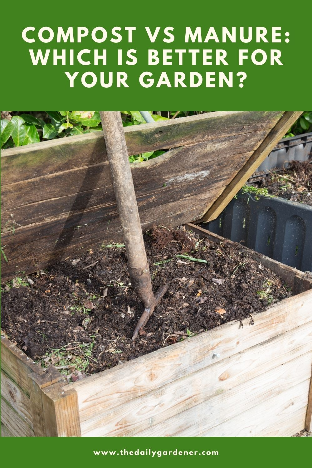 Compost vs manure Which is better for your garden 2