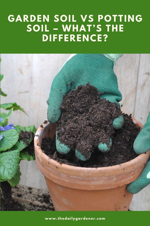 Garden Soil vs Potting Soil – What's the Difference 2