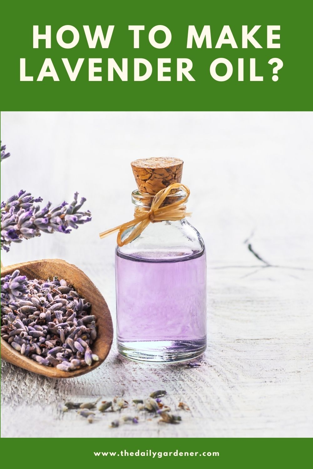 How to Make Lavender Oil 1
