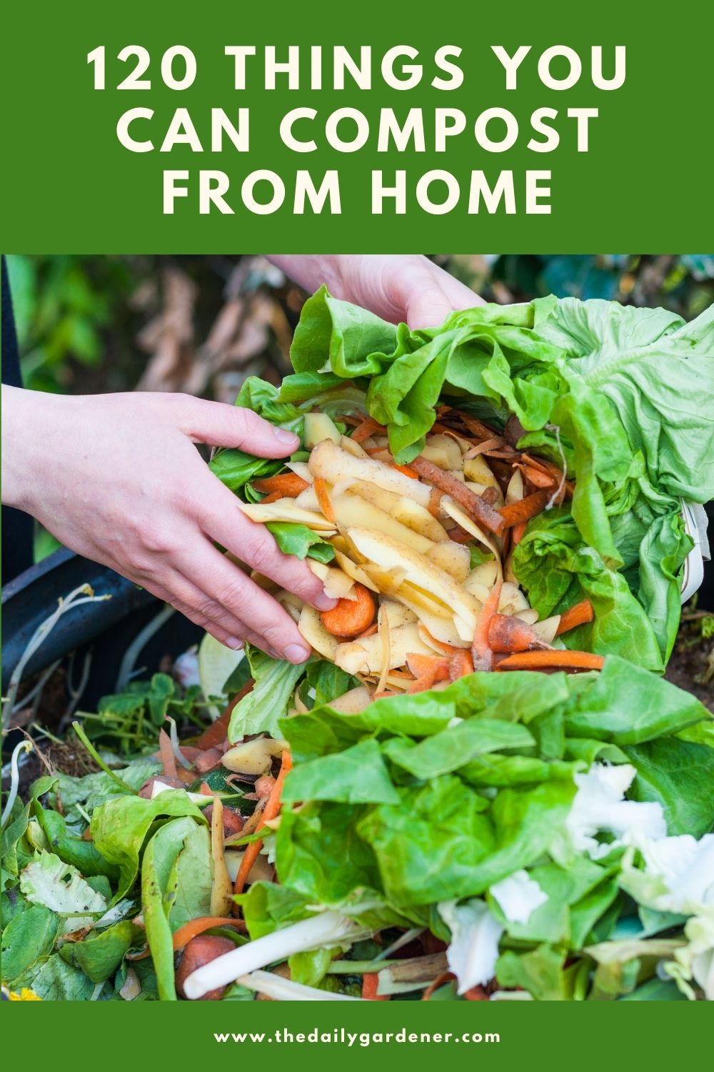 120 Things You Can Compost from Home 1