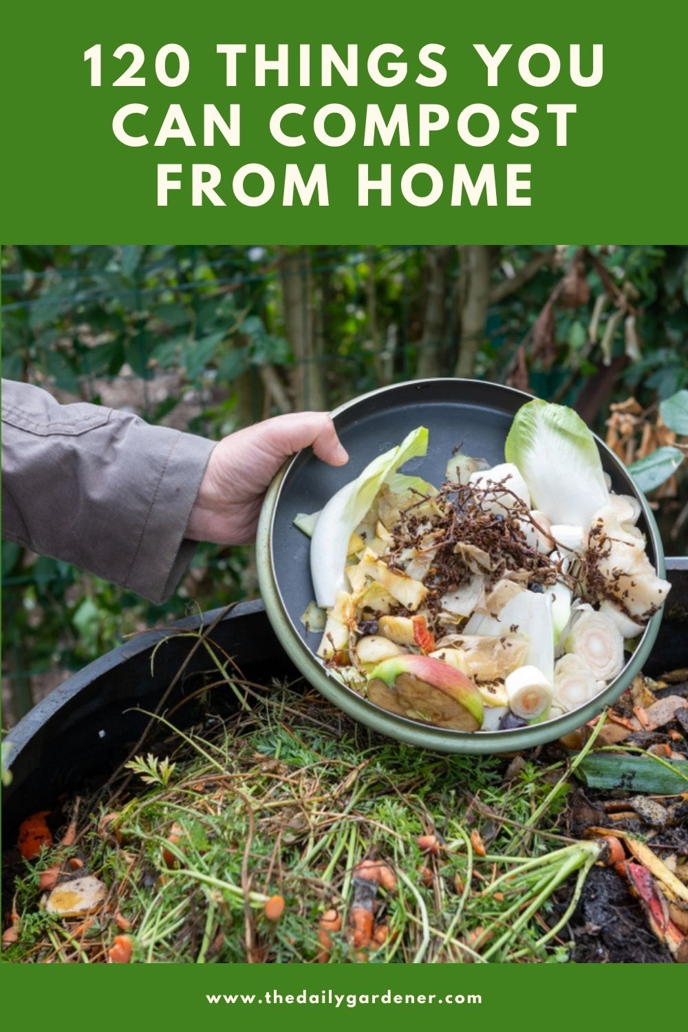 120 Things You Can Compost from Home 2