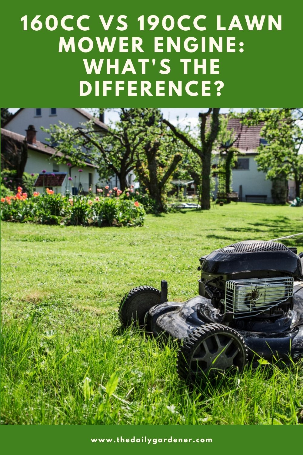 160cc vs 190cc Lawn Mower Engine What's the Difference 1