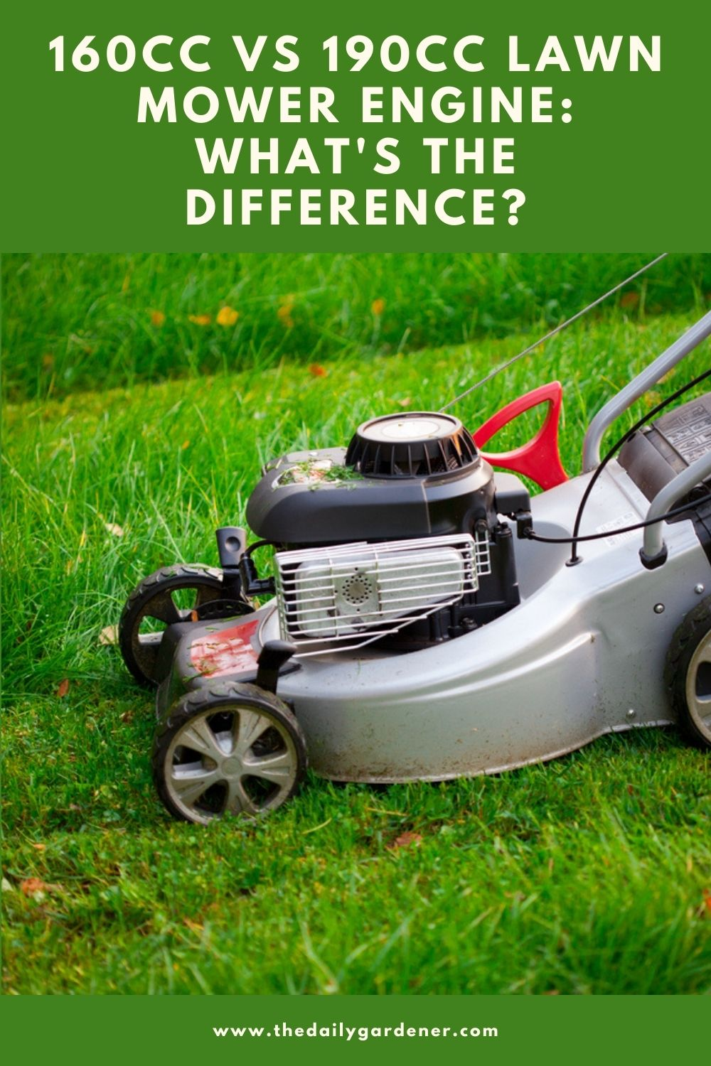 160cc vs 190cc Lawn Mower Engine What's the Difference 2