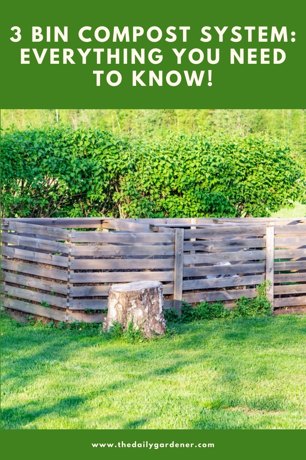 3 Bin Compost System Everything You Need to Know! 1