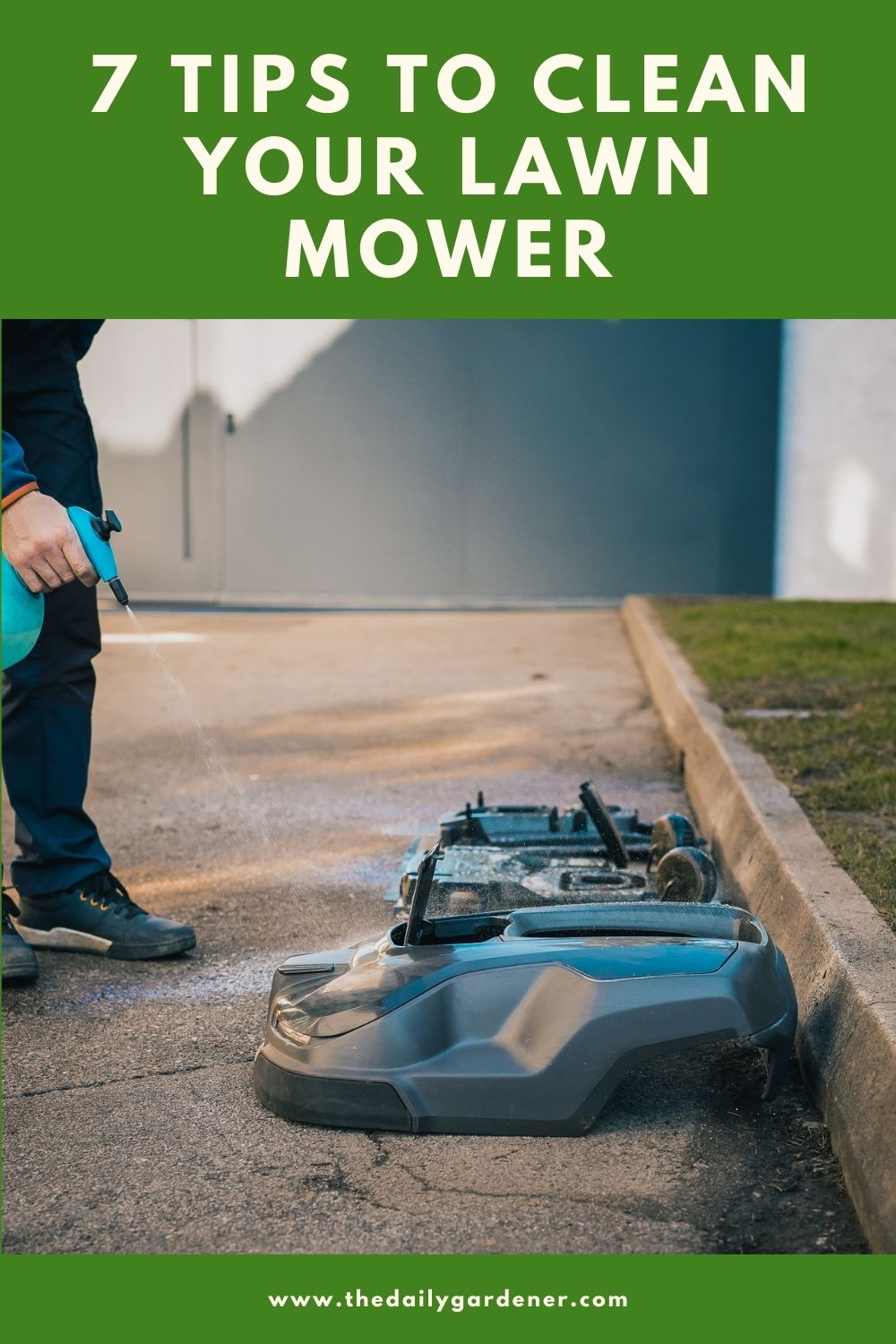 7 Tips to Clean Your Lawn Mower 1