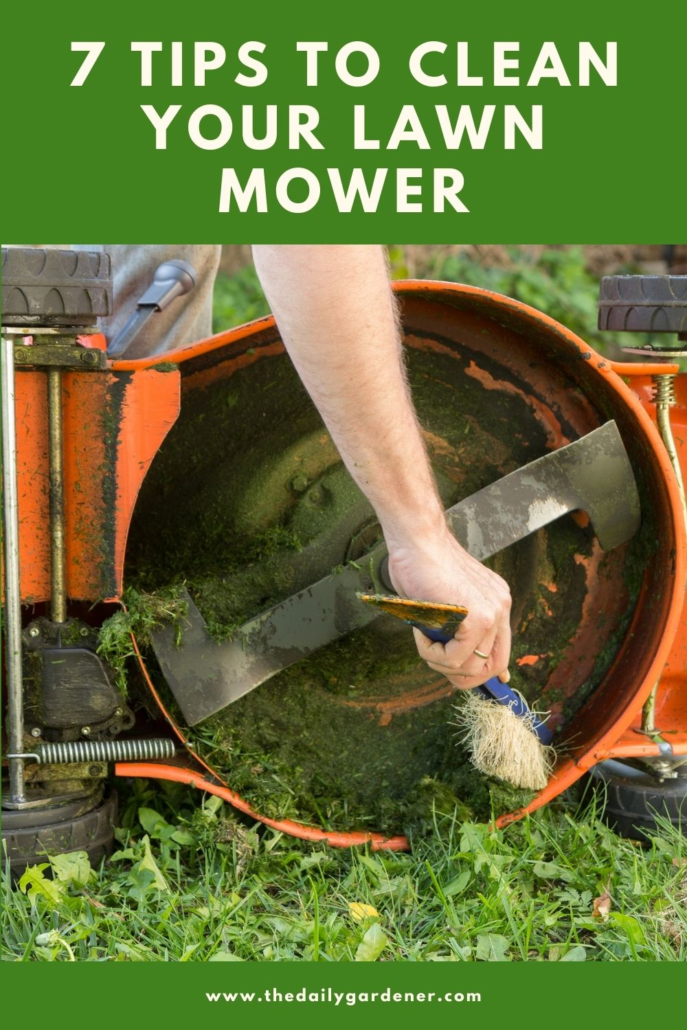 7 Tips to Clean Your Lawn Mower 2