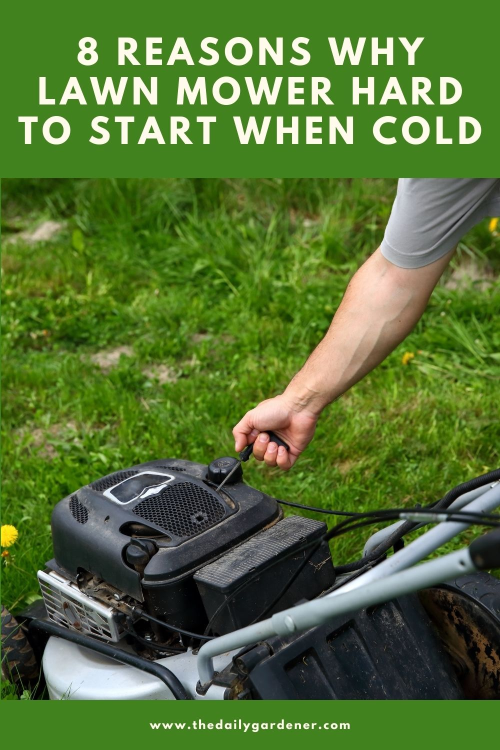 8 Reasons Why Lawn Mower Hard to Start When Cold 2