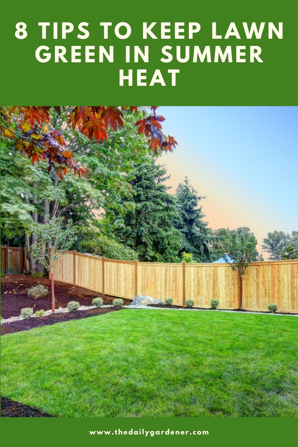 8 Tips to Keep Lawn Green in Summer Heat 1