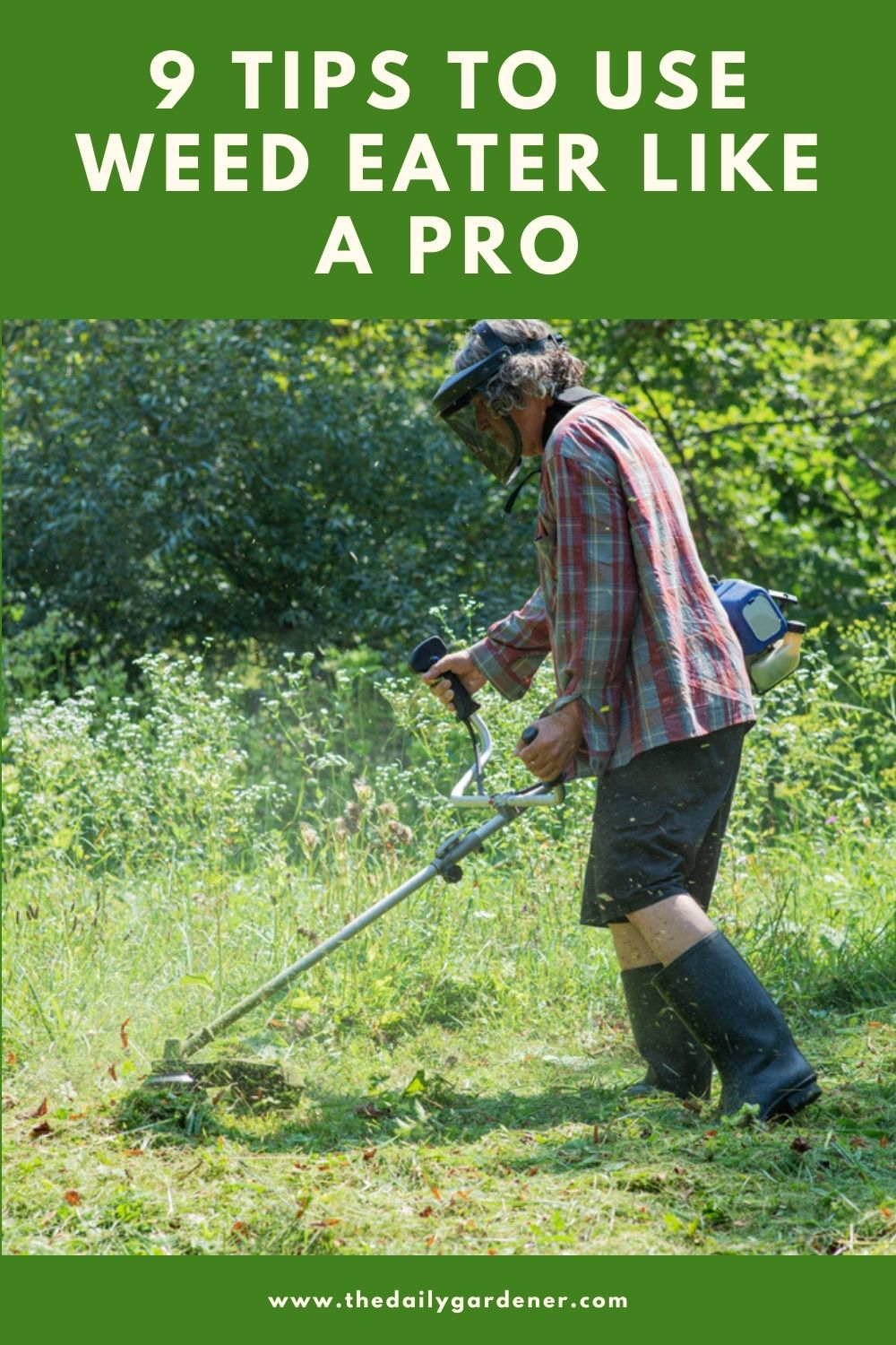 9 Tips to Use Weed Eater Like a Pro 1