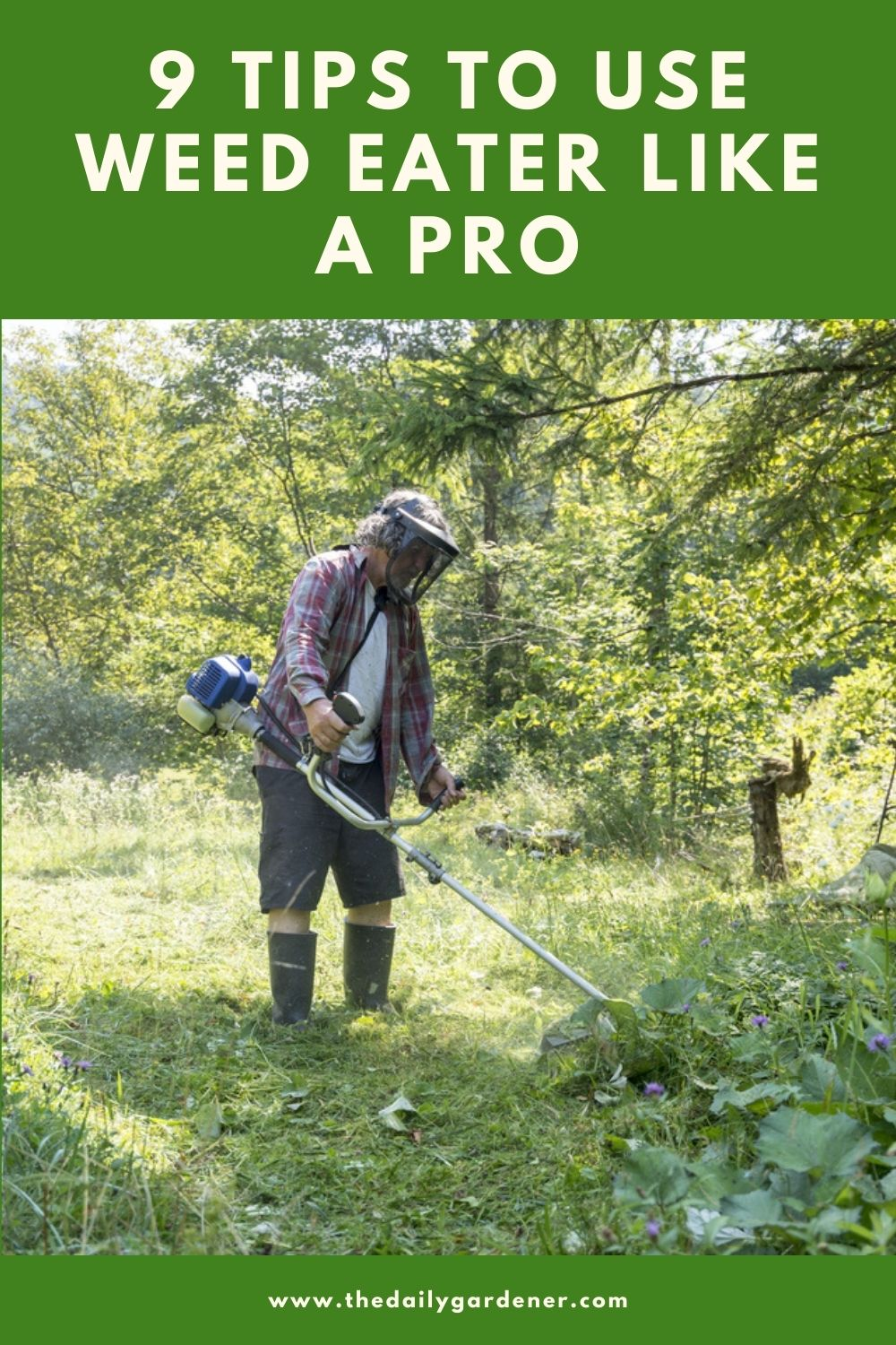 9 Tips to Use Weed Eater Like a Pro 2