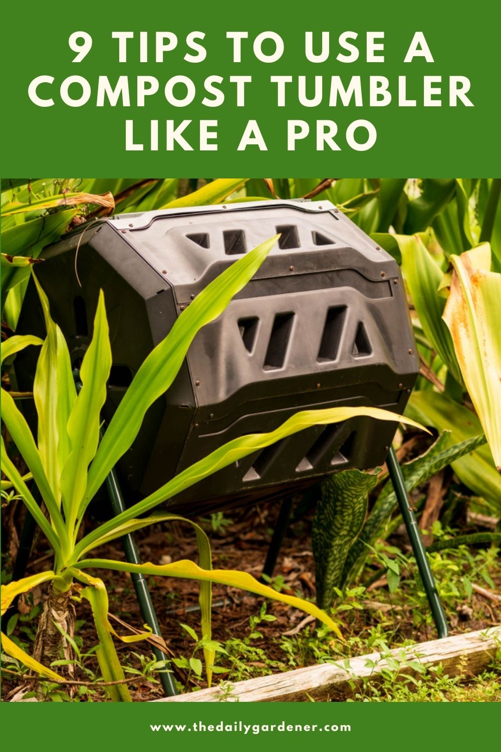 9 Tips to Use a Compost Tumbler Like a Pro 1