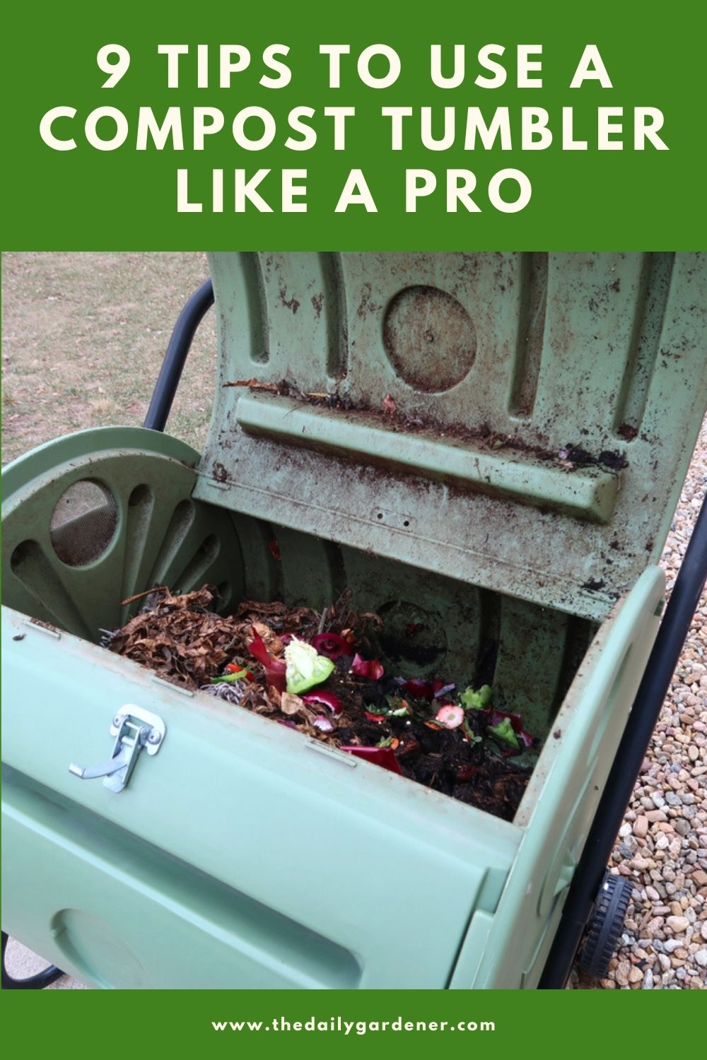 9 Tips to Use a Compost Tumbler Like a Pro 2