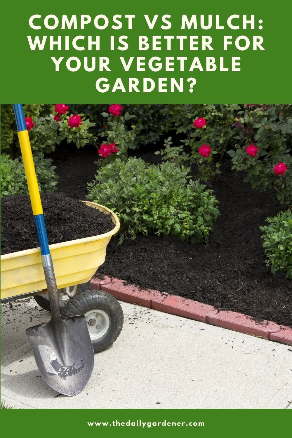 Compost vs Mulch Which is better for your vegetable garden 2