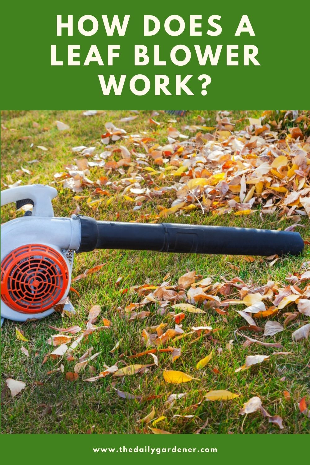 How Does a Leaf Blower Work 2