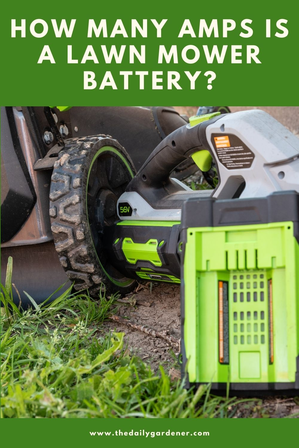 How Many Amps is a Lawn Mower Battery 1