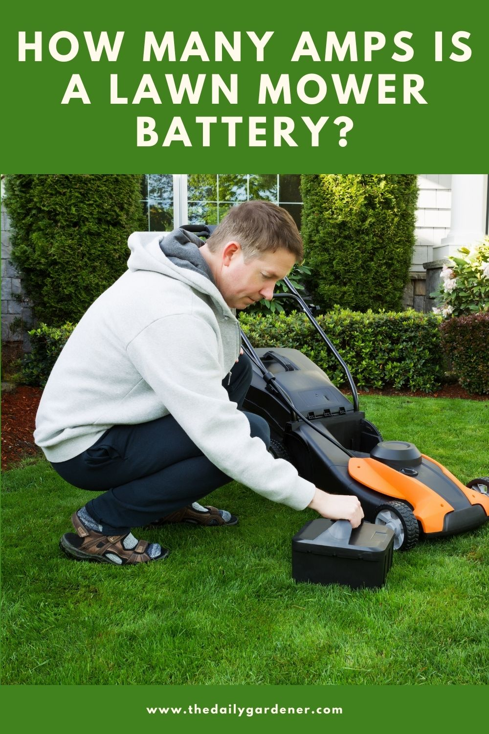 How Many Amps is a Lawn Mower Battery 2
